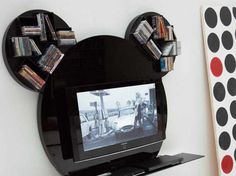 Contemporary Round TV Stands Design Home Entertainment Decorating