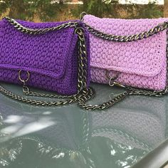 Purple maniac #Exclusive #bag #crochetbag #handmadebag #madeingreece #handmadebyfei #custommade #greece #χειροποιητεςτσαντες…