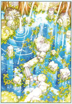Lunar: Silver Star Story The Silver Star, Silver Stars, Retro Video Games, Video Game Art, Fantasy Landscape, Fantasy Art, Secret Of Mana, Environmental Design, Fantasy Inspiration