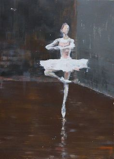 "Saatchi Art Artist OSCAR ALVAREZ; Painting, ""Bailarina"" #art"