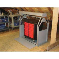 Versa Lift Storage Lift — 8–11ft. Lift, Model# 24