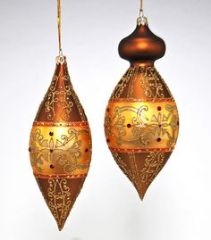"""Katherine's Collection Autumn Tradition Collection Set Six Assort Approx 8"""" Glass Autumn Cupola Ornaments Free Ship"""