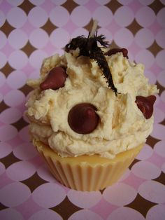 Chocolate Chip Cookie Dough Cupcake Candle - pinned by pin4etsy.com
