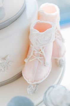 Wintry Ice Skate Cake
