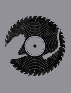 That DJ sure can cut by biotwist, via Flickr. #djculture #djart http://www.pinterest.com/TheHitman14/dj-culture-vinyl-fantasy/