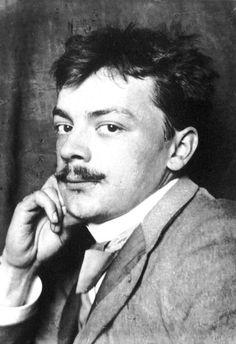 Koloman Moser (Vienna, 1868–1918, age 50) photograph, 1905. Vienna Secession movement, Jugendstil, and founder of the Wiener Werkstätte