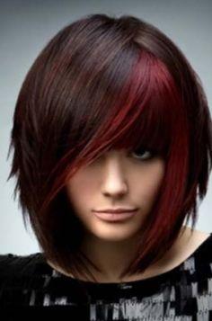 Red hair high lites as low lites instead?