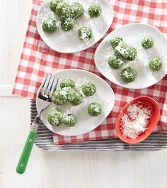 Edible Living: Weelicious Spinach Gnocchi Recipe easy update to GF #gfcommunity