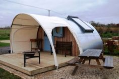Luxury Glamping Eco Pod near Stonehenge & Bath  Book @ 07786 734732 From £35/night