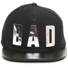 "This is a Love Song LEATHER ""BAD"" SNAP BACK HAT $175 #topseller"