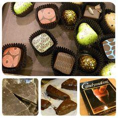 Homemade Valentine Chocolates class with Ruth Kendrick at Gygi!