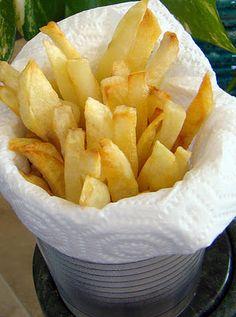 Hoopfinity's Happenings: Eating Light: Oven Baked French Fries