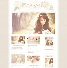 Responsive Wordpress Theme  Blog Design  Premade by LoveFirstSite
