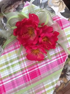 Summer Blooms Gift Wrapping