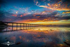 SDSummer sunset in Ocean Beach.  Photo by Evgeny Yorobe Photography.