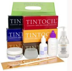Tintocil Complete Tinting Kit Dye Brow Tint * Visit the image link more details. Hair Color Glaze, Eyebrow Tinting, Beauty Quotes, How To Make Hair, Beautiful Eyes, Sensitive Skin, Eyebrows, Kit, Lights