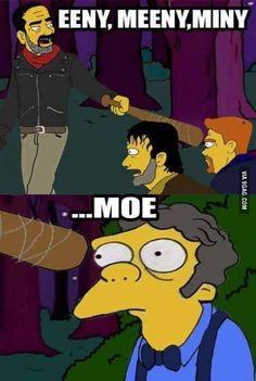 """Season 7 of """"The Walking Dead"""", got me like"""