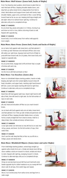 5 slimming exercises