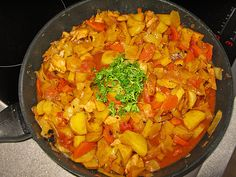 Curry, Ratatouille, Salsa, Vegetables, Ethnic Recipes, Food, Soups And Stews, Stew, Food Portions