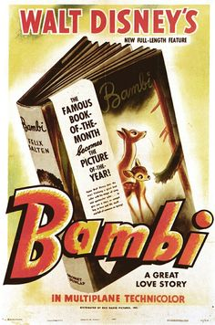 #Bambi Theatrical Poster