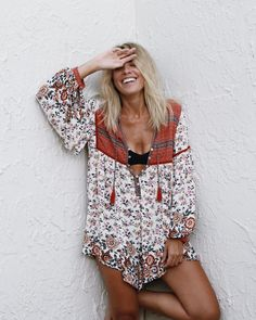"846 Likes, 7 Comments - Free People Florida (@fpflorida) on Instagram: ""Tuesdays are better in the Elle Romper #fpme #freepeople :@roughhgem 