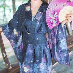 Galaxy Kimono Bathrobe Haori SP167879