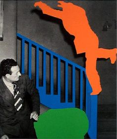 View Two Figures One Leaping Orange One Reacting with Blue and Green by John Baldessari on artnet. Browse upcoming and past auction lots by John Baldessari. Prints For Sale, Art For Sale, Postmodern Art, John Baldessari, Palette, Global Art, Print Artist, Conceptual Art, Photomontage