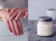 DIY make hand cream yourself- DIY Handcreme selber machen * Nicest Things – Food, Interior, DIY: DIY: making hand cream yourself - Belleza Diy, Diy Beauté, Diy Tumblr, Facial Cleanser, Cocoa Butter, Toe Nails, Body Lotion, Diy Gifts, Beauty Hacks