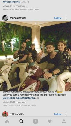 #'virushka' off for a scooty ride