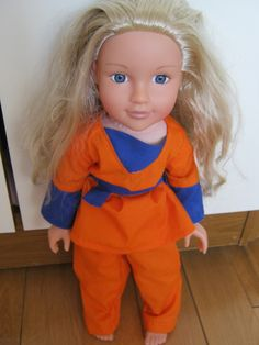 Doll's Clothes Dragon Ball Z Goku Costume