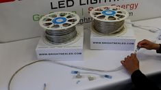How to install LED Strip light outdoor, plug in, Cool White and Warm white – Garage Organization DIY Led Lighting Home, Strip Lighting, Diy Garage Storage, Garage Organization, Storage Ideas, Lead Type, Diy Pallet Projects, Electronics Projects, Led Strip