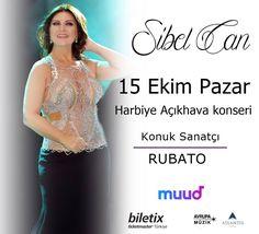Muud Harbiye Açıkhava konserleri kapsamında 30 'Eylül'de gerçekleşmesi planlanan Sibel Can konseri olumsuz hava şartları sebebiyle 15 Ekim 2017 tarihine ertelenmiştir.30 Eylül 'deki ertelenen konser İçin Elinizde bulunan biletler geçerliliğini korumaktadır. ❗️