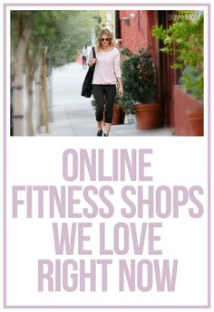 Step up your fitness style with these fabulous online shops!