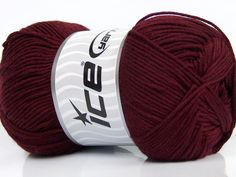 Fiber Content 50% Bamboo 50% Cotton Brand Ice Yarns Burgundy fnt2-44099 Baby Bamboo, Yarns, Baby Shoes, Fiber, Burgundy, Content, Baby Boy Shoes, Low Fiber Foods, Wine Red Hair