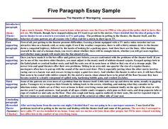 005 7th grade 5 paragraph essay sample uncategorized upper