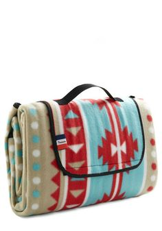 Snappy Trails Picnic Throw, #ModCloth