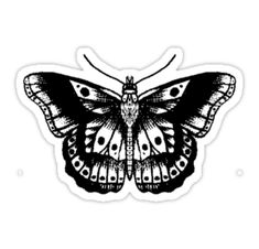 """Harry styles' butterfly tattoo"" stickers by lukehemmings Harry Styles Tattoos, Harry Tattoos, Styles Harry, Borboleta Harry Styles, Harry Styles Butterfly, Marquesan Tattoos, Hawaiian Tattoo, Aesthetic Stickers, Symbolic Tattoos"