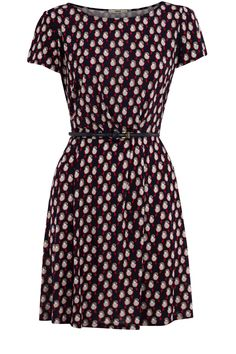 Robin Bird Print Dress