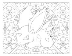 Free printable Pokemon coloring page-Nidoran ♂. Visit our page for more coloring! Coloring fun for all ages, adults and children. Boy Coloring, Cat Coloring Page, Coloring Pages To Print, Coloring Book Pages, Coloring Pages For Kids, Colorful Drawings, Colorful Pictures, Pokemon Coloring Sheets, Pokemon Cross Stitch