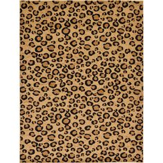 Bring a classic modern expression to your room by giving this Unique Loom Safari Light Brown Rug. Vacuum regularly and spot clean. Light Brow, Shed Colours, Colors, Square Rugs, Leopard Animal, Leopard Rug, Rugs Online, Modern Rugs, Rug Making