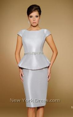 82926dd53a34 Rina Di Montella 1807 - NewYorkDress.com Like this peplum style. Would like  in