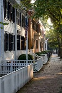 Upper Main St., Nantucket - a beautiful place to take a stroll in the afternoon