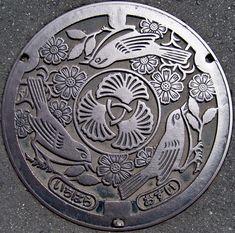 Japan's Artistic Manhole Covers