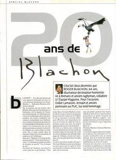 Blanchon - L'Équipe Magazine - 20 Ans de Blachon 1/8 - samedi 22 octobre 2005 - N° 1219