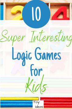 10 Super Interesting Logic Games for Kids