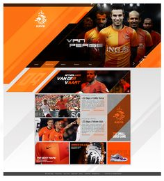 Netherlands football by Double C, via Behance