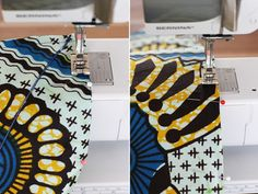 DIY Wax Print Headwrap