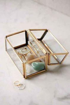 glass treasure box