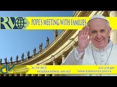 Welcome to our Vatican News Channel. Get your information about Pope Francis' main activities and important Vatican events right here. This Channel opened on. Getting Married Young, Marrying Young, Got Married, Youtube English, Prayer For Peace, Catechist, Catholic School, Prayer Book, Family Day