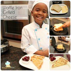 Waffle Iron Grilled